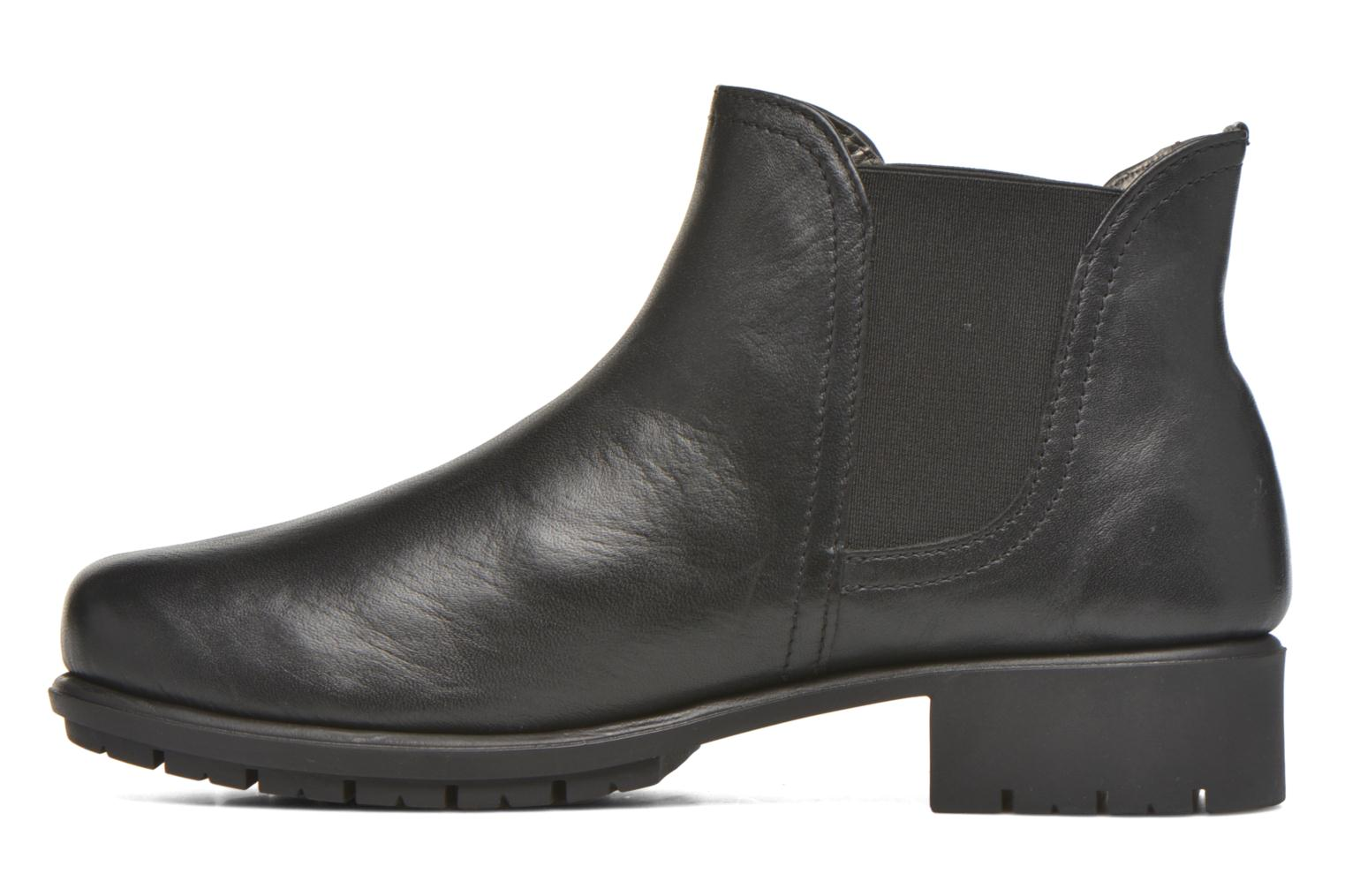 Ankle boots Aerosoles Just In Case Black front view