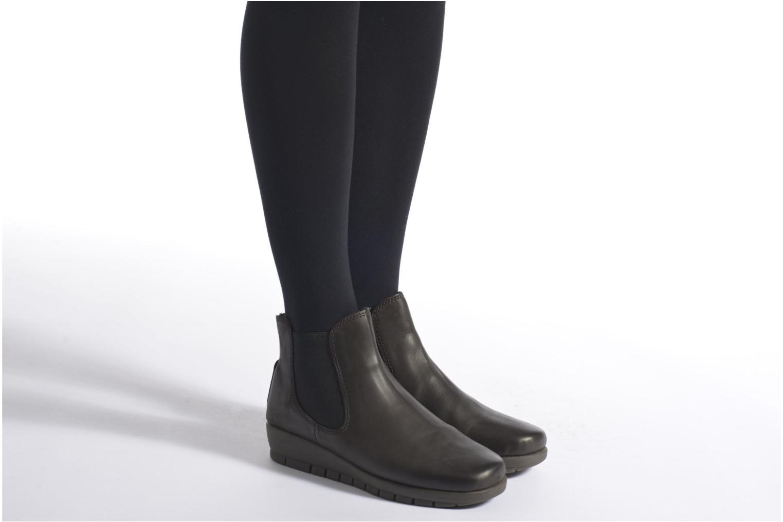 Bottines et boots Aerosoles Movements Warm Marron vue bas / vue portée sac