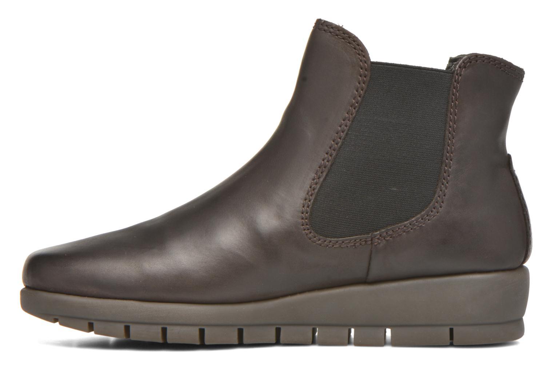Bottines et boots Aerosoles Movements Warm Marron vue face