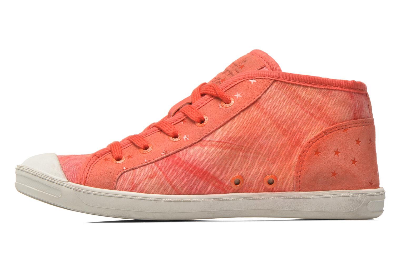 Sneakers Kickers Karola -2 Roze voorkant