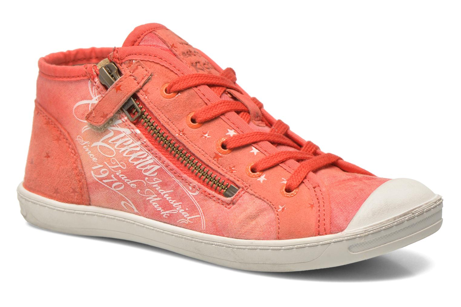 Sneakers Kickers Karola -2 Roze detail