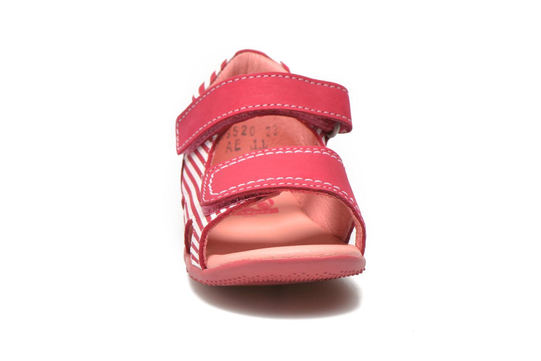 Sandales et nu-pieds Kickers Bi Sea Rose vue portées chaussures