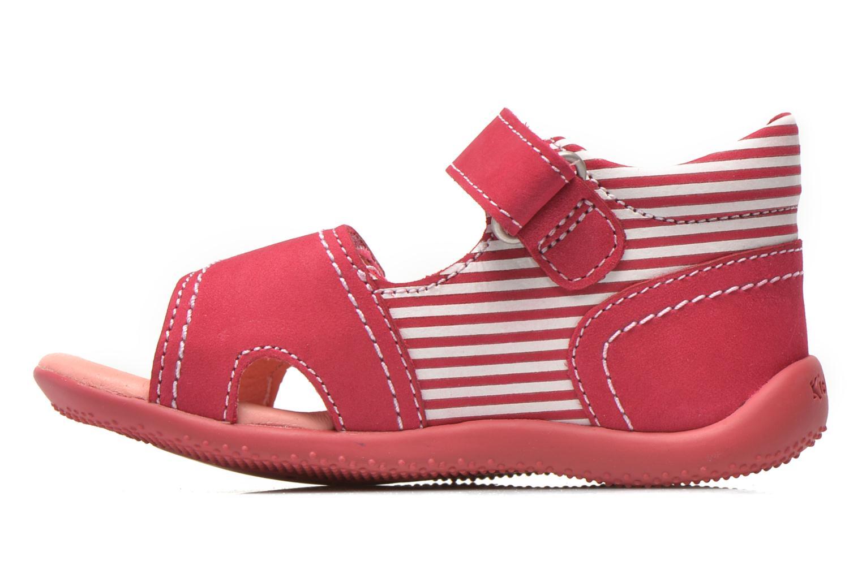 Sandales et nu-pieds Kickers Bi Sea Rose vue face