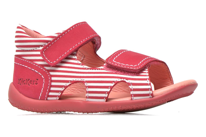 Sandales et nu-pieds Kickers Bi Sea Rose vue derrière