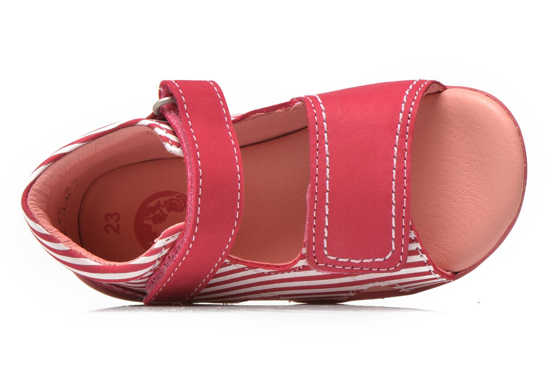 Sandales et nu-pieds Kickers Bi Sea Rose vue gauche