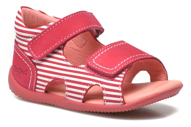 Sandales et nu-pieds Kickers Bi Sea Rose vue détail/paire