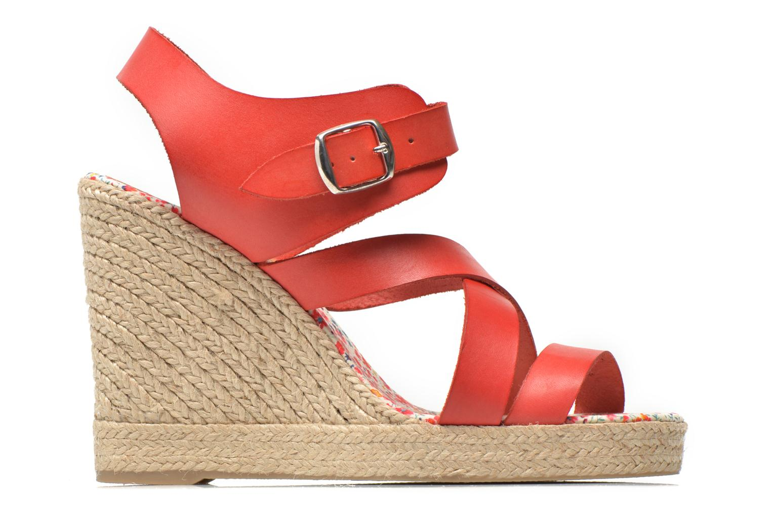 Sandals Pare Gabia Othello Red back view