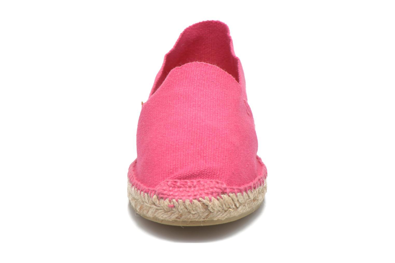 Espadrilles Pare Gabia VP Unis Rose vue portées chaussures