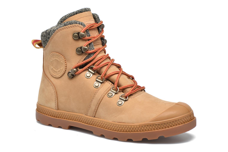 Ankelstøvler Palladium Pallab Hk LP F Brun detaljeret billede af skoene