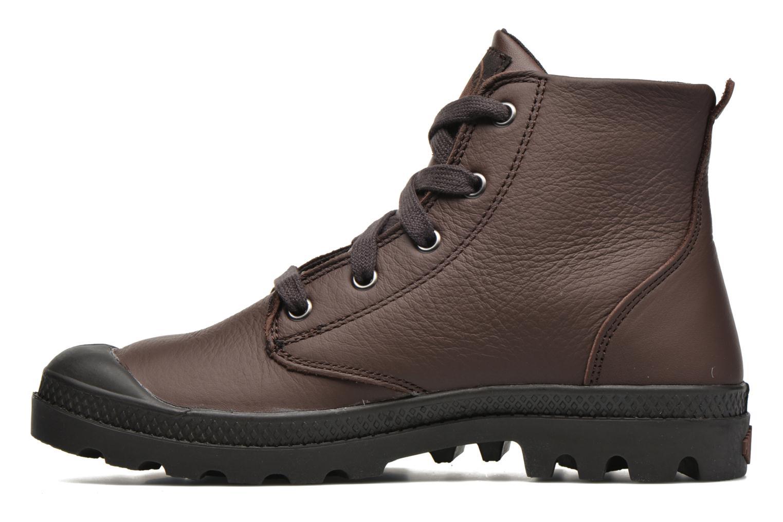 Bottines et boots Palladium Pampa Hi VL F Marron vue face