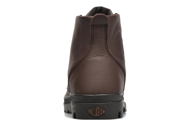 Bottines et boots Palladium Pampa Hi VL F Marron vue droite