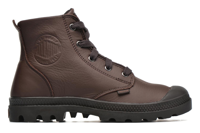 Bottines et boots Palladium Pampa Hi VL F Marron vue derrière