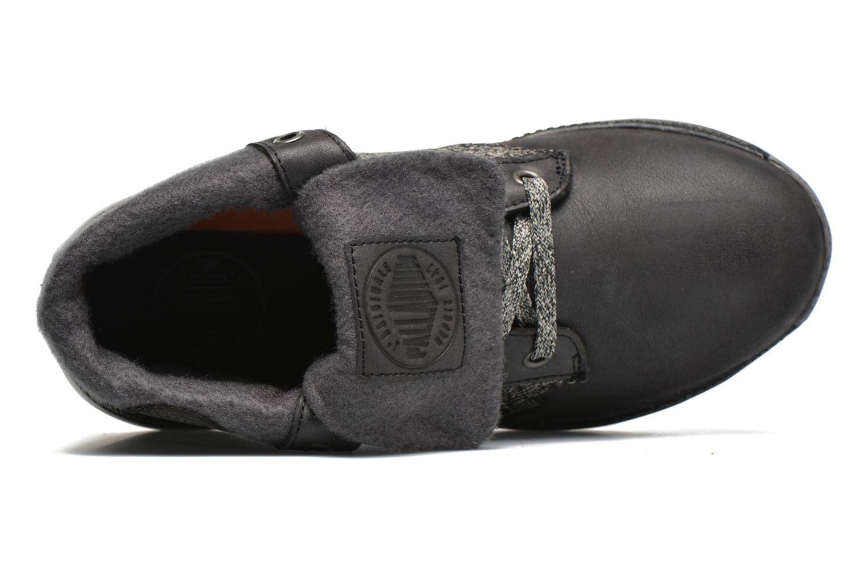 Sneaker Palladium Plvil Bgy TCT F schwarz ansicht von links