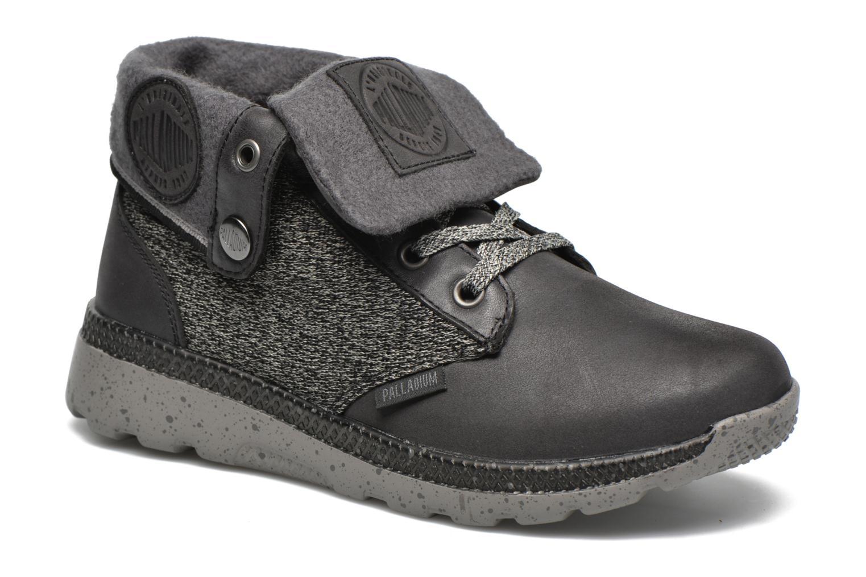 Sneakers Palladium Plvil Bgy TCT F Sort detaljeret billede af skoene