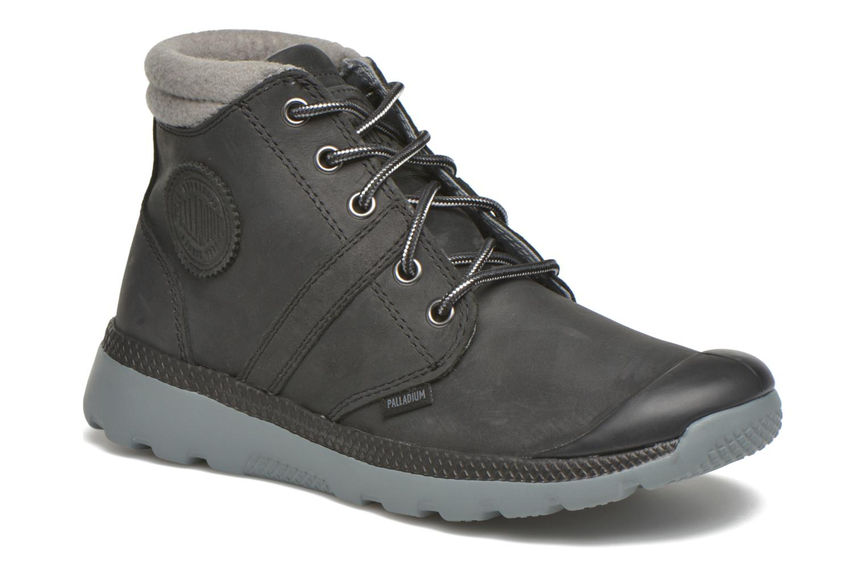 Ankle boots Palladium Palavil D Cuf F Black detailed view/ Pair view