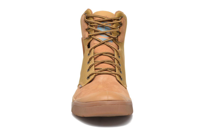 Bottines et boots Palladium Palaru Hi Wp H Marron vue portées chaussures