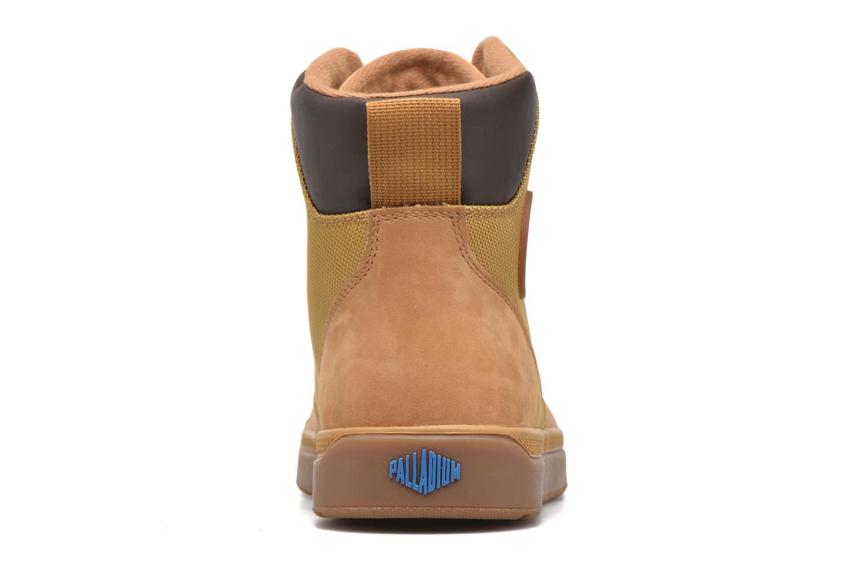 Bottines et boots Palladium Palaru Hi Wp H Marron vue droite