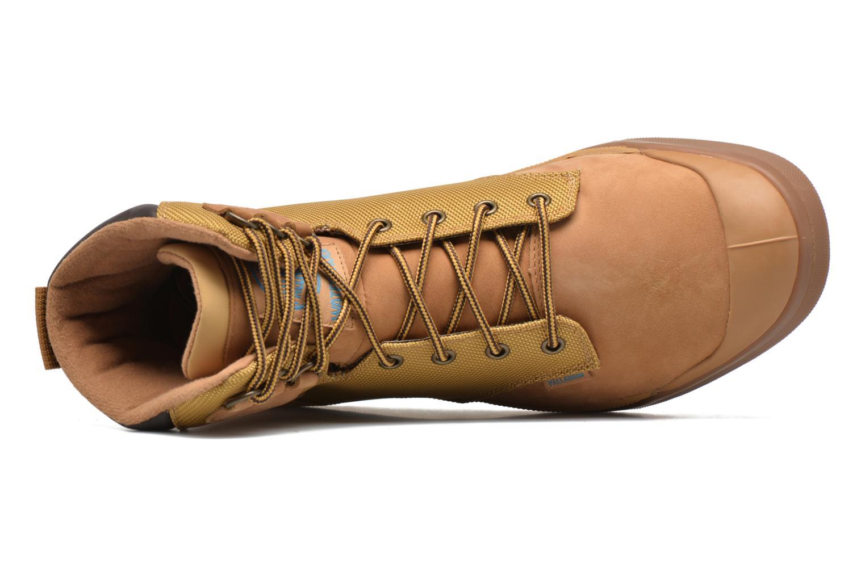 Bottines et boots Palladium Palaru Hi Wp H Marron vue gauche