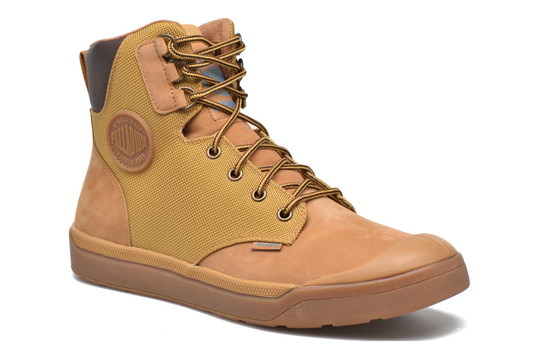 Bottines et boots Palladium Palaru Hi Wp H Marron vue détail/paire