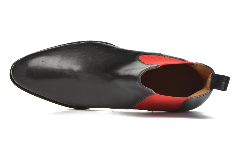 Bottines et boots Melvin & Hamilton Kane 4 Noir vue gauche