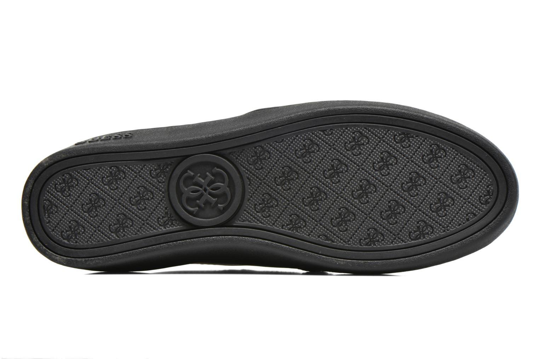 Baskets Guess Maze Noir vue haut