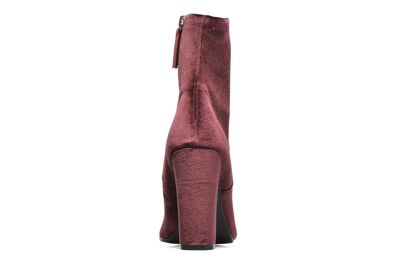 Bottines et boots Steve Madden Editt Bordeaux vue droite