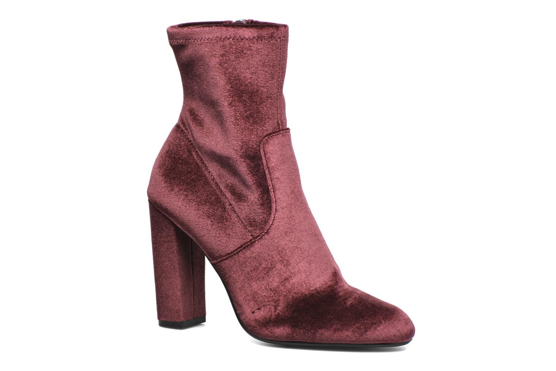 Bottines et boots Steve Madden Editt Bordeaux vue détail/paire