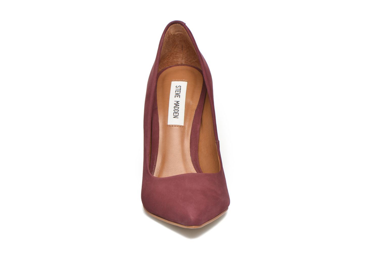 Escarpins Steve Madden Primpy Bordeaux vue portées chaussures