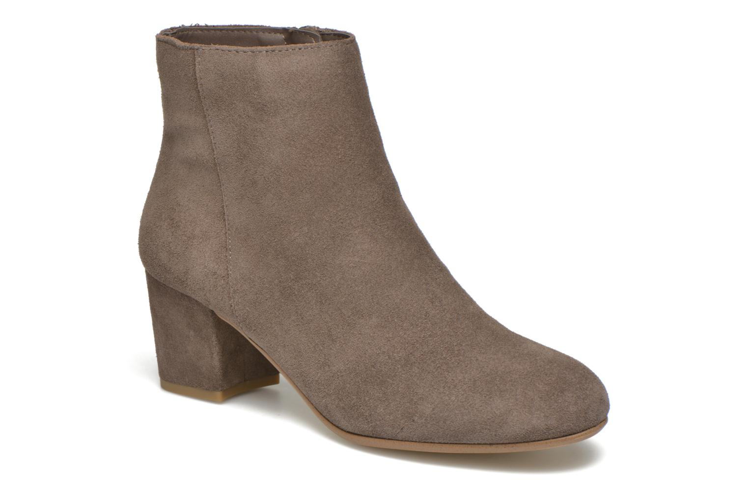 Marques Chaussure femme Steve Madden femme Holster 10002 Taupe Suede