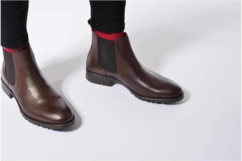 Stiefeletten & Boots Marvin&Co Ahsford schwarz ansicht von unten / tasche getragen