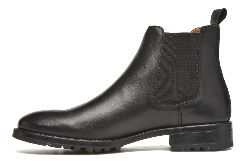 Ahsford Vitello black leather