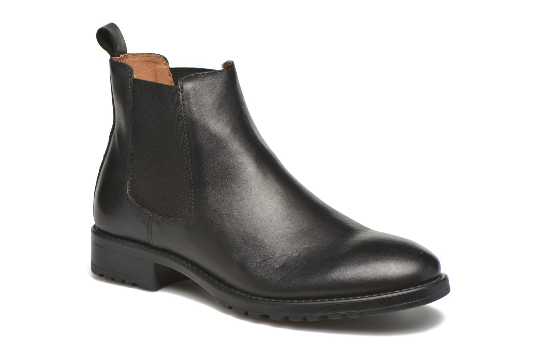 Ankelstøvler Marvin&Co Ahsford Sort detaljeret billede af skoene