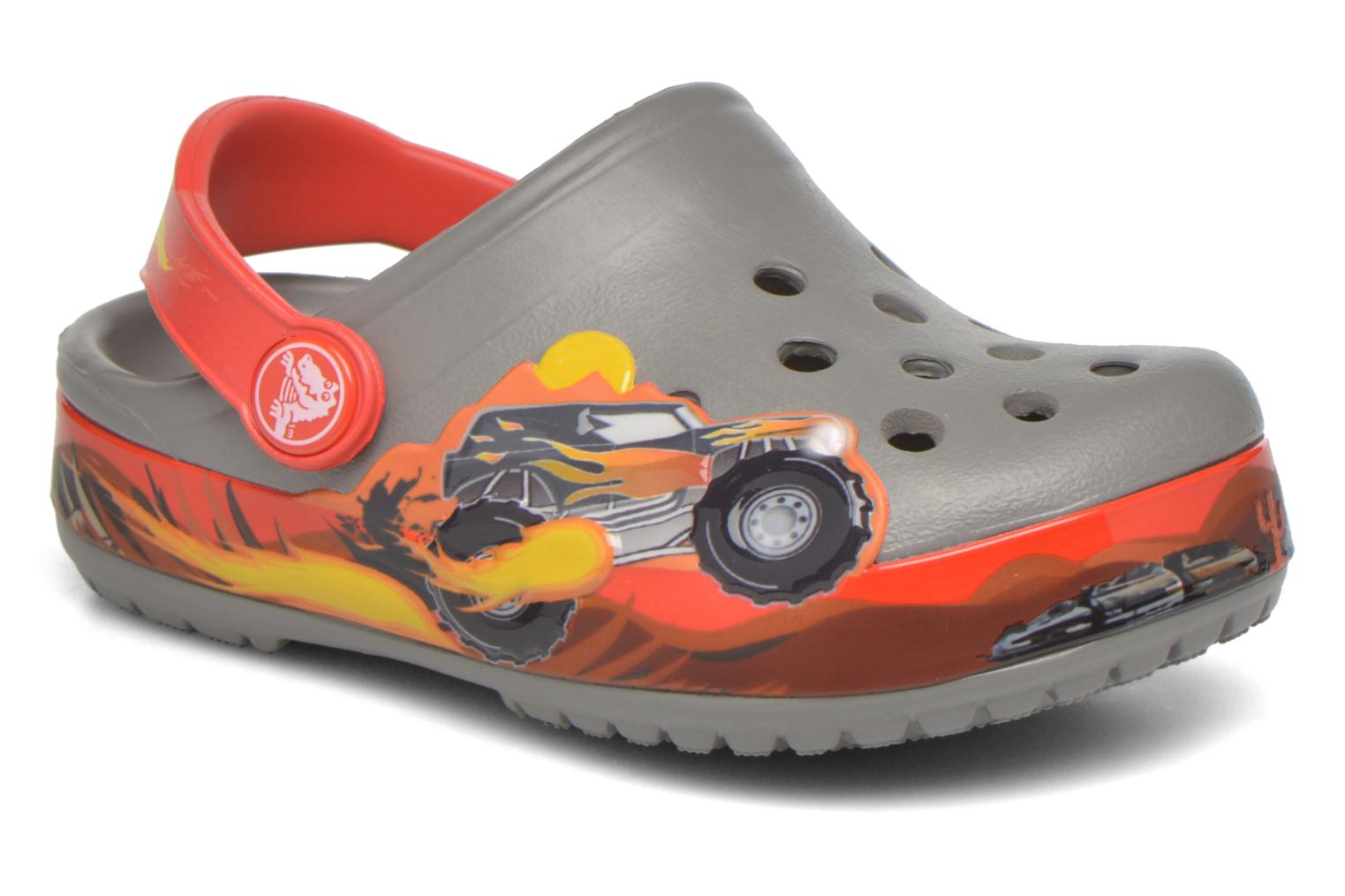 Crocband Monster Truck Clog K Smoke