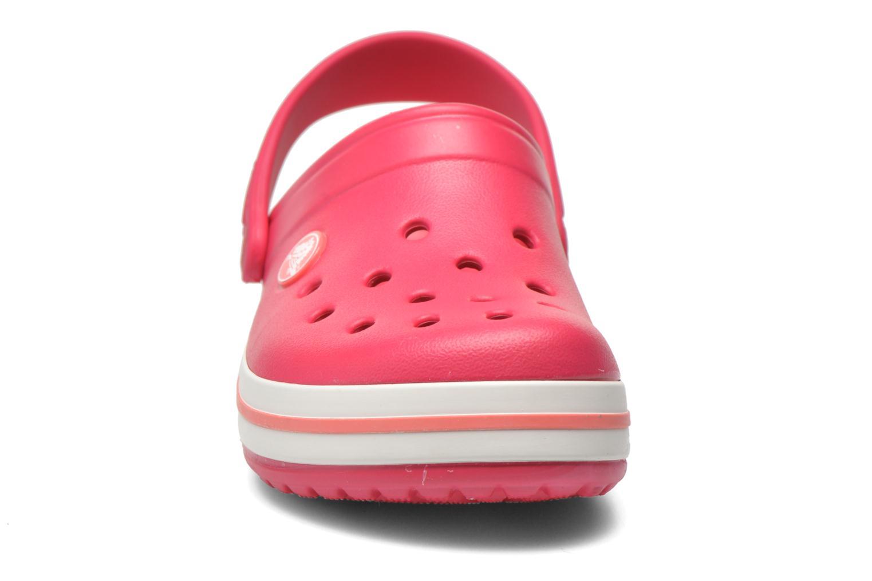 Sandales et nu-pieds Crocs Crocsband Kids Rose vue portées chaussures