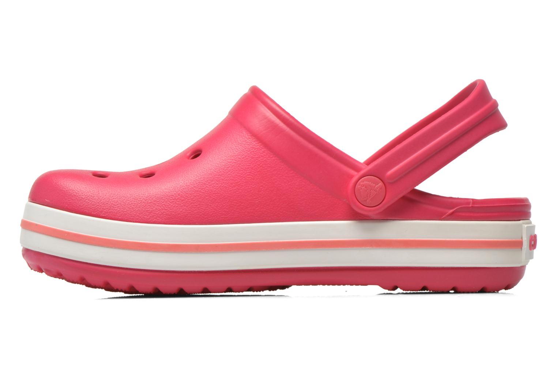 Sandales et nu-pieds Crocs Crocsband Kids Rose vue face