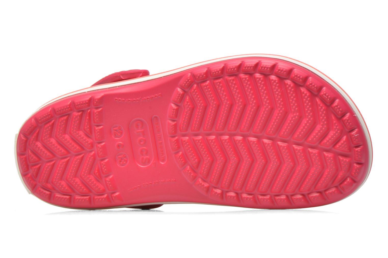 Sandales et nu-pieds Crocs Crocsband Kids Rose vue haut