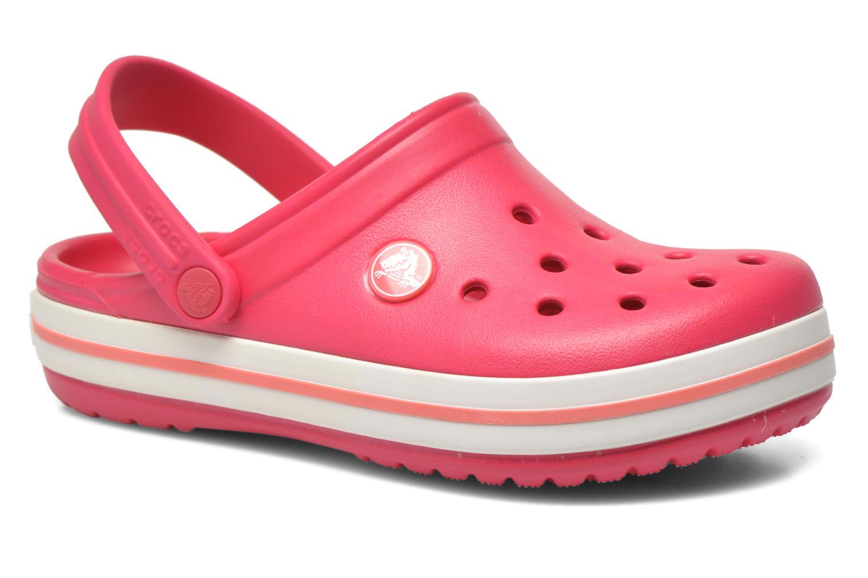Sandales et nu-pieds Crocs Crocsband Kids Rose vue détail/paire
