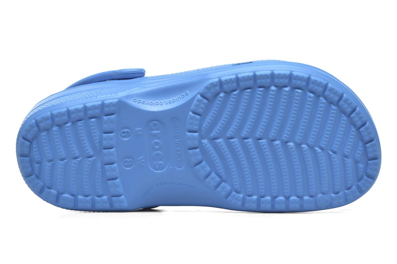 Mules et sabots Crocs Ralen Clog w Bleu vue haut