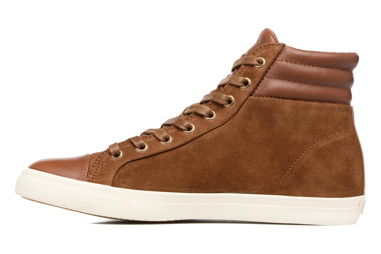 Sneaker Polo Ralph Lauren GEFFRON braun ansicht von vorne