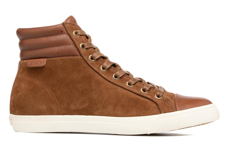 Sneaker Polo Ralph Lauren GEFFRON braun ansicht von hinten