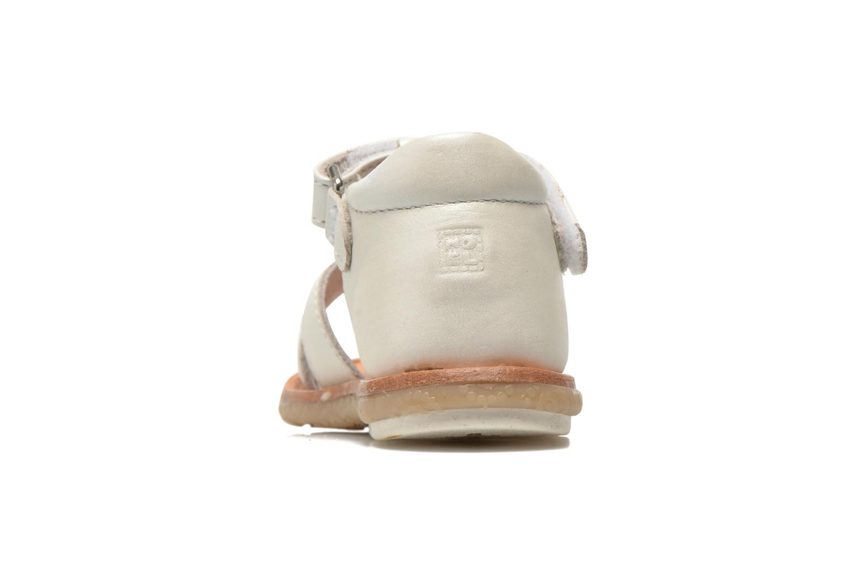 Sandali e scarpe aperte Noël Mini Saba Bianco immagine destra