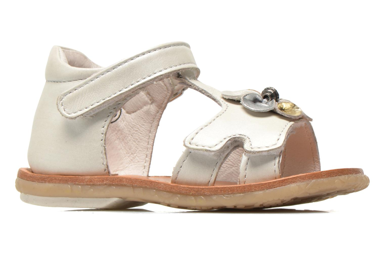 Sandali e scarpe aperte Noël Mini Saba Bianco immagine posteriore