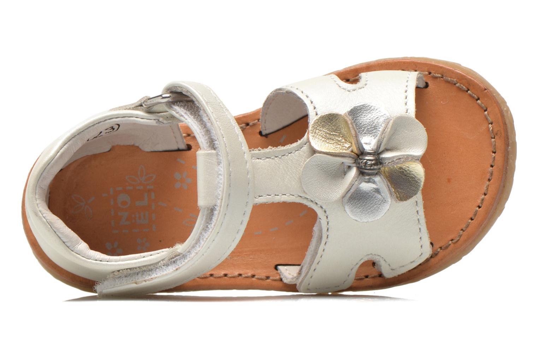 Sandali e scarpe aperte Noël Mini Saba Bianco immagine sinistra