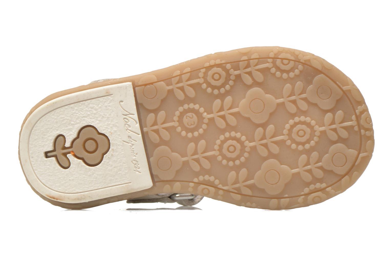 Sandali e scarpe aperte Noël Mini Saba Bianco immagine dall'alto