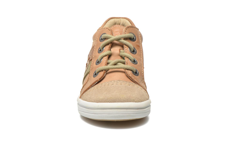 Baskets Noël Mini Marmo Marron vue portées chaussures