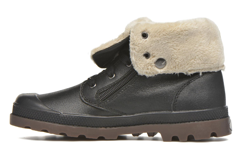 Stiefeletten & Boots Palladium BGY L ZIP FS K schwarz ansicht von vorne