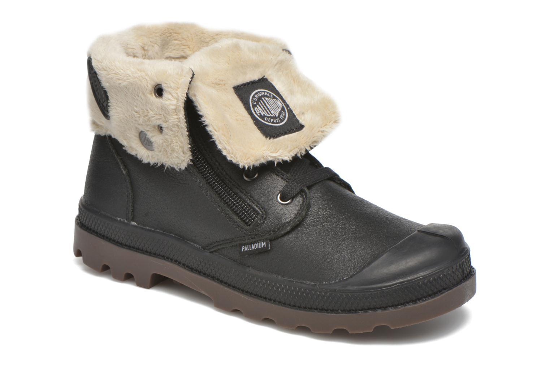 Ankle boots Palladium BGY L ZIP FS K Black detailed view/ Pair view