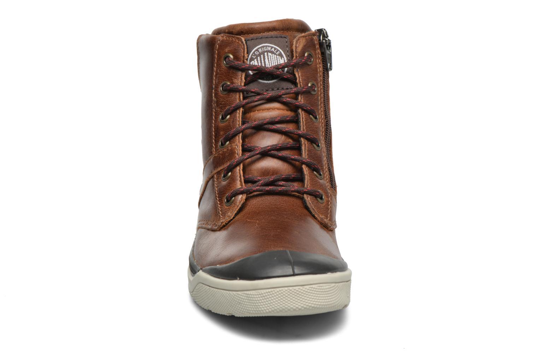 Bottines et boots Palladium PALARU CUF L K Marron vue portées chaussures