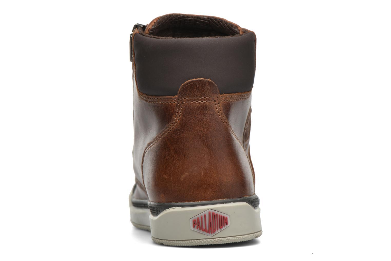 Bottines et boots Palladium PALARU CUF L K Marron vue droite