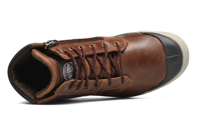 Bottines et boots Palladium PALARU CUF L K Marron vue gauche